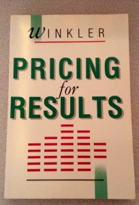Pricing for Results Front Cover