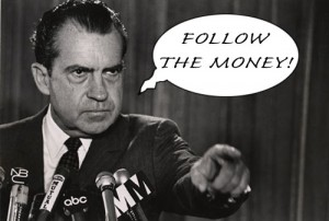 Nixon Follow the Money