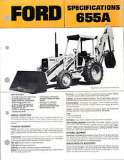 Ford Tractor Backhoe Brochure