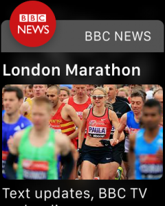 BBC News Paula Radcliffe