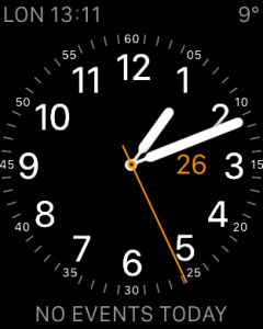 Apple Watch Clock Face